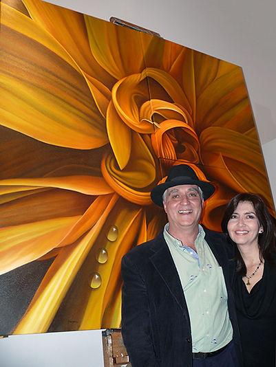 Olha Lucia Hincapie and Juan Bernal