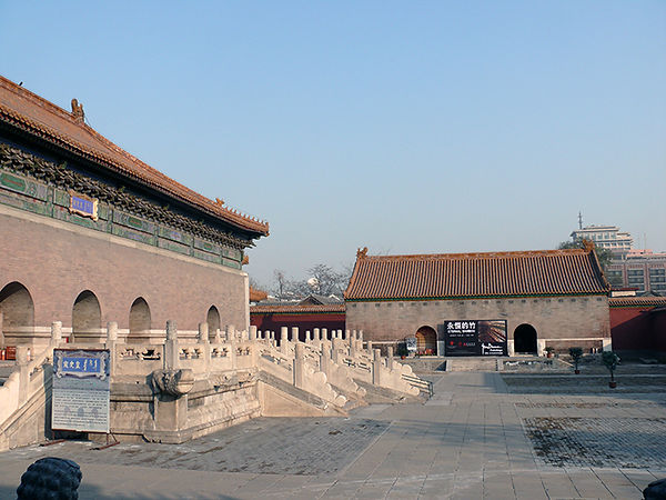 Wan Fung Gallery, Forbidden City, Beijing, China