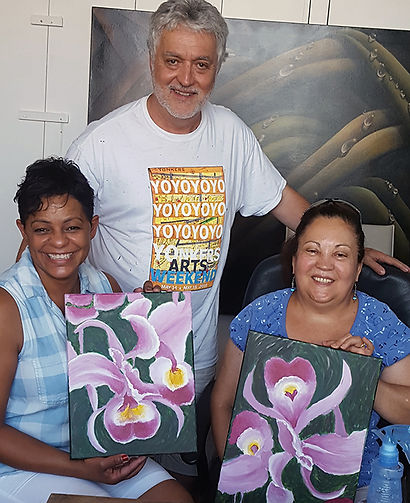 Art classe for adults in Union City