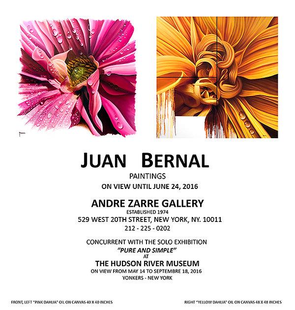 Invitation Andre Zarre Gallery, NY.