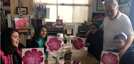 Art classes for children and adults