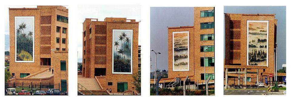 Murales gobernacion de Cundinamarca, Bogota
