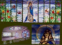 Stained glass, consevatorio de musica del Tolima
