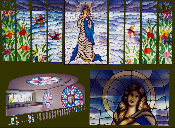 Stained glass, consevatorio de musica del Tolima