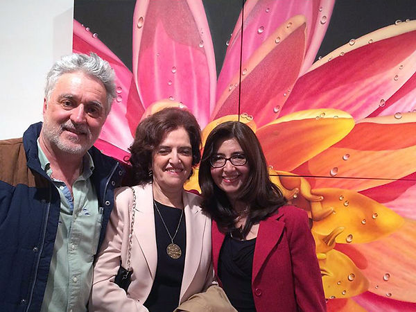 Art Exhibition of paintings at Andre Zarre Gallery by Juan Bernal