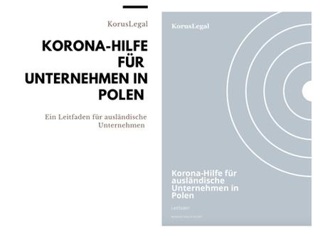 Korona-Hilfe für ausländische Unternehmen in Polen (Leitfaden)