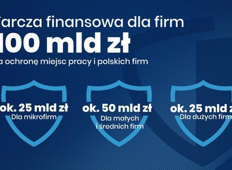Subwencje i pożyczki z Polskiego Funduszu Rozwoju (Tarcza Finansowa PFR)