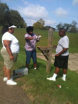 Fixing Church Mailbox
