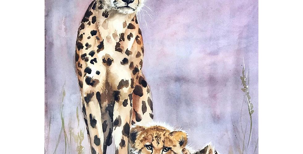 Cheetahs Wall Art