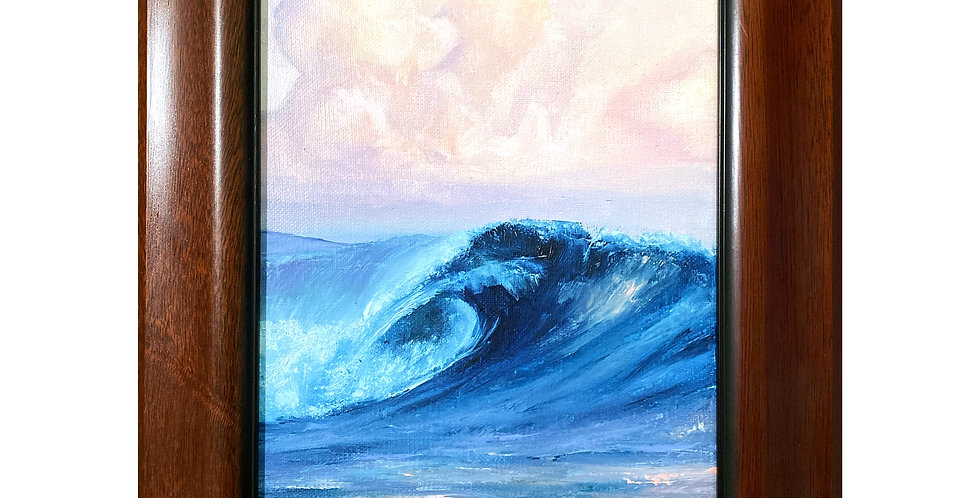 Wave wall art