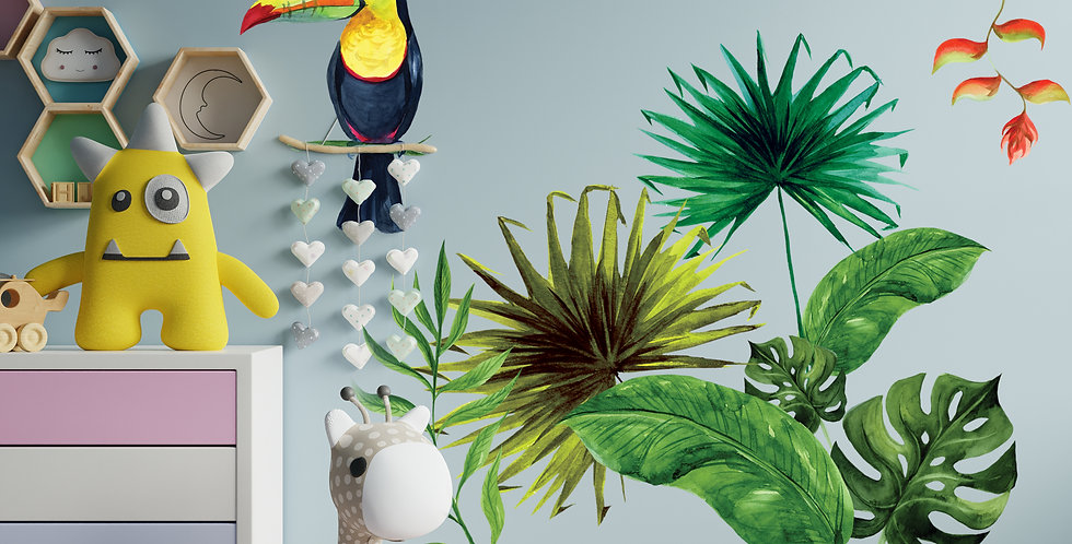 Tropical Life Decals