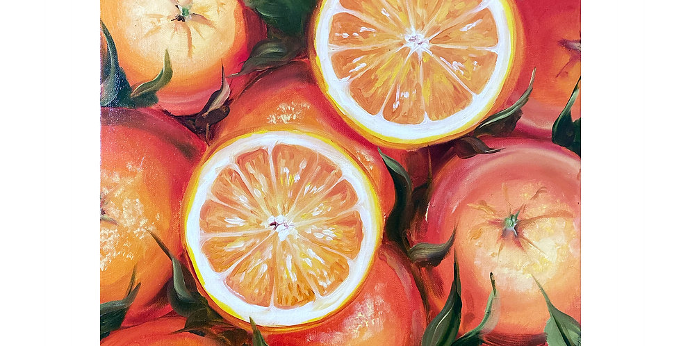 Oranges Wall Art