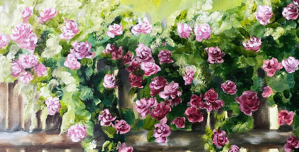 Roses wall art