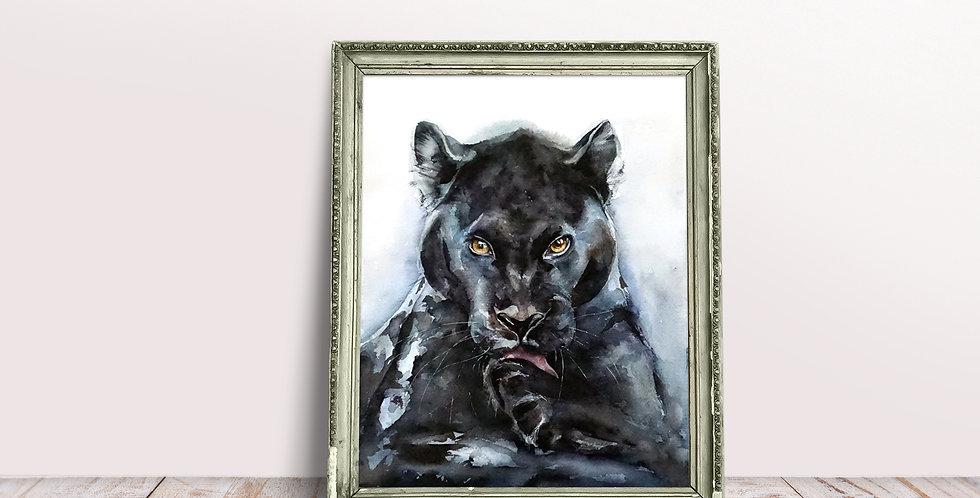 Black panther Wall Art