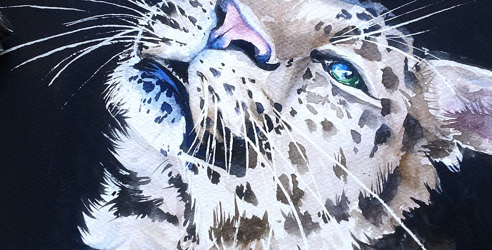 Big cat wall art