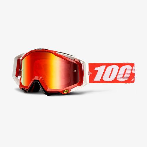 100% Racecraft Fire Red