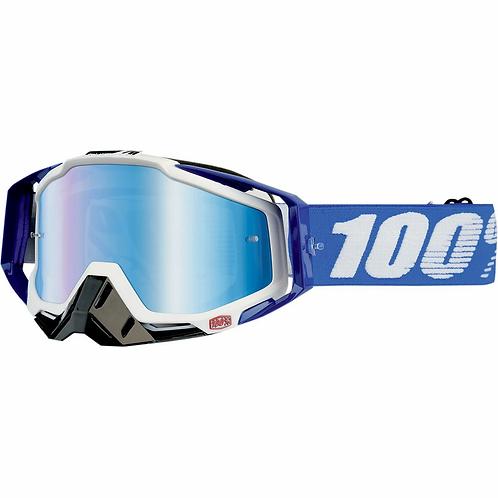 100% Racecraft Cobalt azul