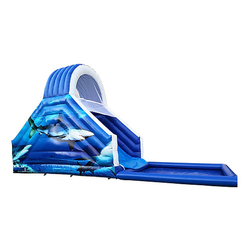 JAWS SLIDE WITH POOL