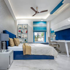 Blue Azraa Room design