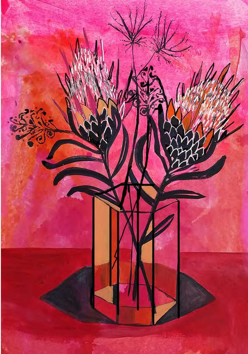PROTEAS PINK