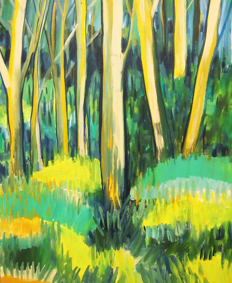 selby study acrylic on canvas
