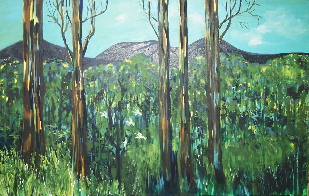 View to Dandenong Ranges 2016