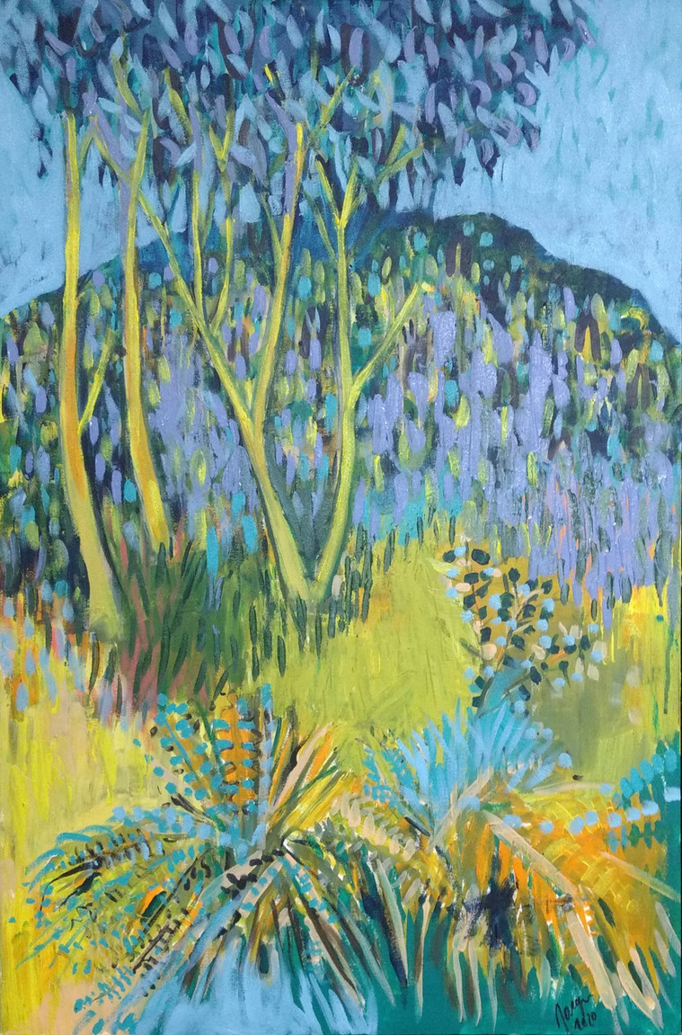 glenfern valley on canvas