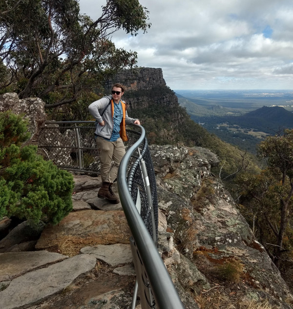 hallam at lookout
