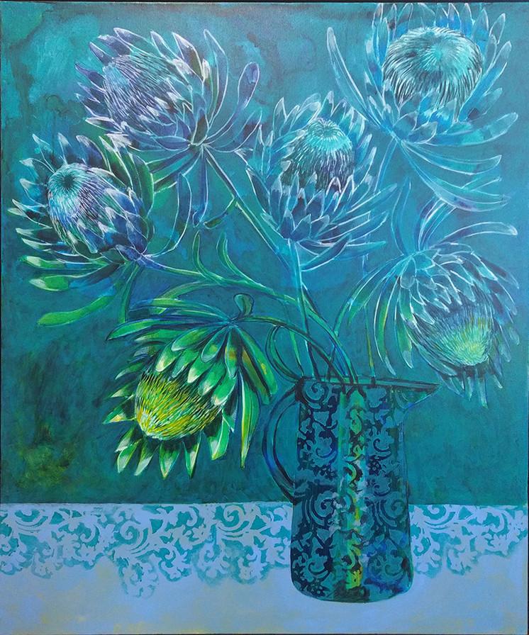 Proteas, Blue 2.