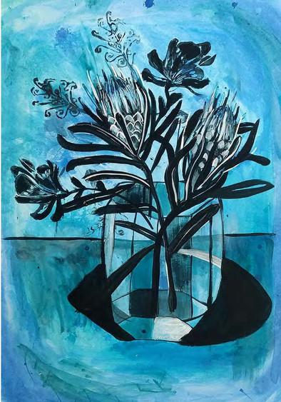 blue proteas