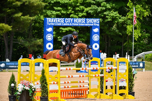 Samuel Parot at the Great Lakes Equestrian Festival
