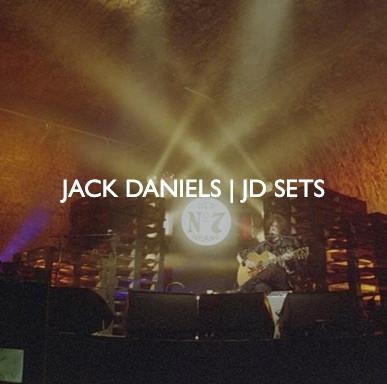 Jack Daniels JD Sets live event, designed by Friedrich Events.