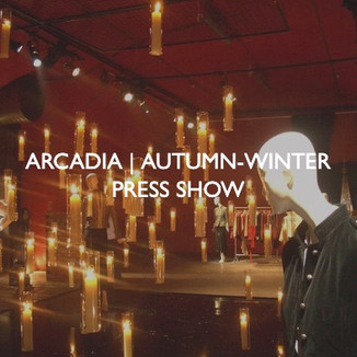 Product marketing for Arcadia Autumn / Winter Press Show.