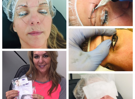 Behind the scenes for Permanent Makeup