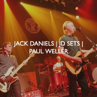Jack Daniels JD Sets with Paul Weller live event, designed by Friedrich Events.