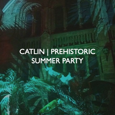 Catlin Prehistoric Summer Party, event dressing by Friedrich Events.