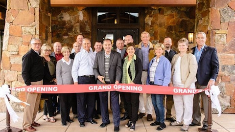 GOVERNOR GARY HERBERT OFFICIATES GRAND OPENING CEREMONY AT RED LEDGES