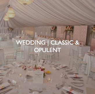 Weddings that are classic and opulent, styling by Friedrich Events.