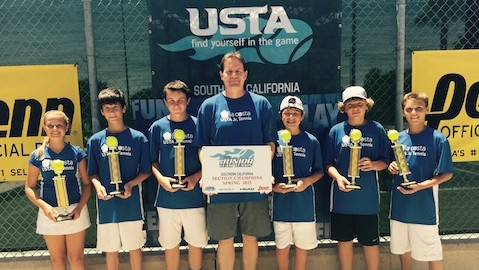 La Costa Tennis Academy Juniors Crowned Champions of Southern California