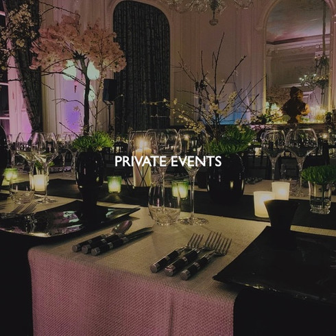 Art direction for private events.