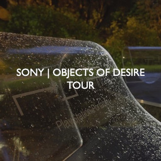 Sony Objects of Desire Tour, designed by Friedrich Events.