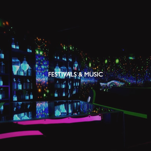 Art direction for festivals & music.