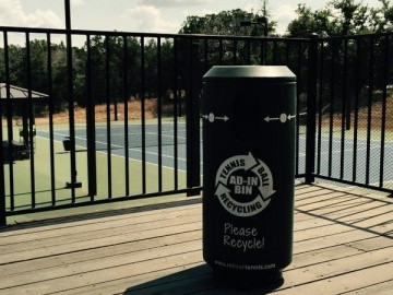 CLIFF DRYSDALE MANAGEMENT JOINS TENNIS BALL RECYCLING INITIATIVE