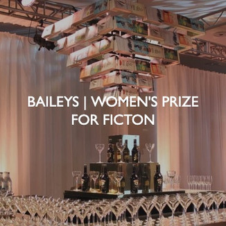 Bailey's Women's Prize for Fiction Event, event dressing by Friedrich Events.