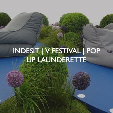 Indesit V Festival, designed by Friedrich Events.