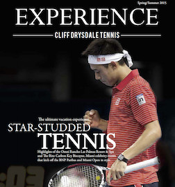 Read the Inaugural Issue! EXPERIENCE: Cliff Drysdale Tennis' Travel and Lifestyle-Inspired Magazine