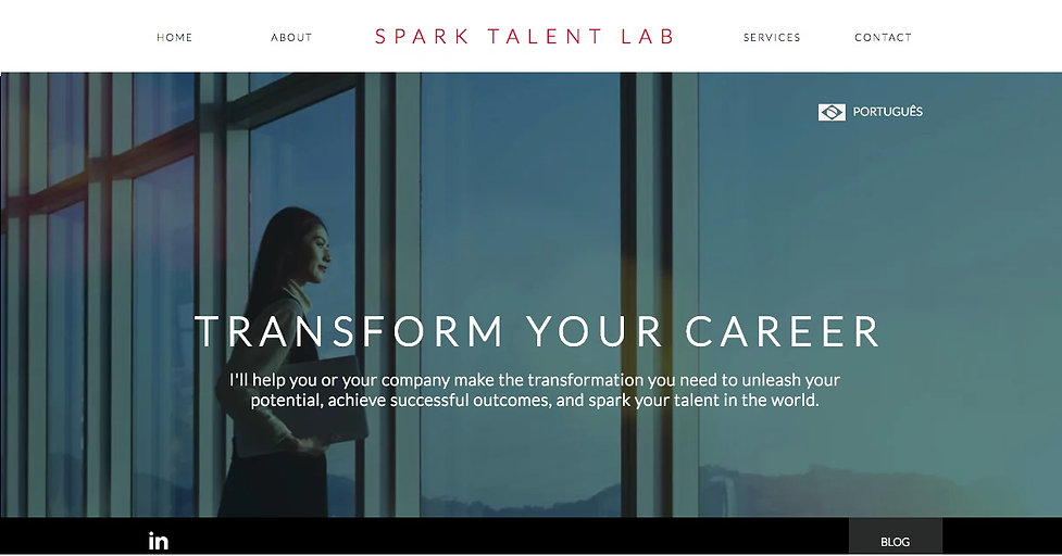 Life & Career Coaching Website Design, Spark Talent Lab, Ethos By Design