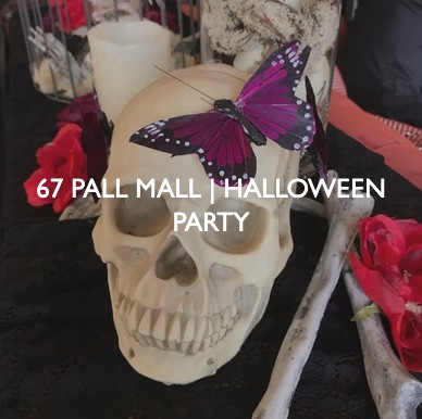 67 Pall Mall Halloween Party, event dressing by Friedrich Events.