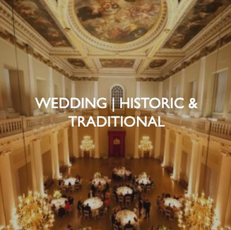 Weddings that are historic and traditional, styling by Friedrich Events.