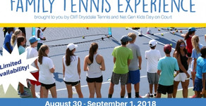 Family US Open Packages with On Court Experience for Kids!